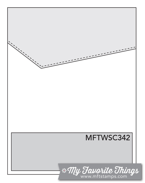 Sketch Challenge 342 #mftstamps