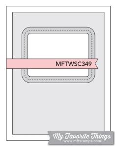 Sketch Challenge 349 #mftstamps
